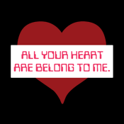 Cats All Your Heart Are Belong To Us Funny Valentine's Day Gamer Internet Meme