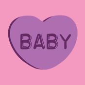 Baby Valentine's Day Candy Heart