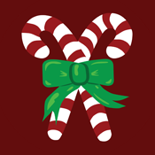 Candy Canes Candycanes Cane Red and White Stripes Christmas