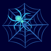 Crystal Spider and Spiderweb