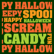 halloween text art