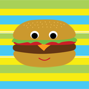 Cute Hamburger