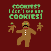 Christmas Gingerbread Man Cookie Disguise
