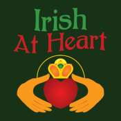 Irish At Heart Claddagh St. Patrick's Day