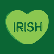 Irish Candy Heart Swear Irish Pride St. Patrick's Day