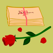 Vintage Romantic Love Letters