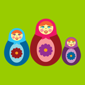 Cute Matryoshka Dolls