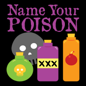 Name Your Poison Funny Bartender Goth Gothic Dark