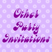Other Party Invitations Cards and Stamps