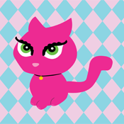 Cute Pink Kitty Cat