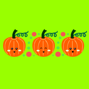 Cute Kawaii Pumpkins