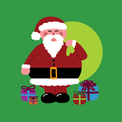 Kawaii Cute Santa Claus Presents