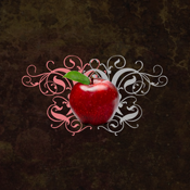 Twilight Apple Teacher Antique Apple