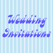 Wedding Invitations thank you cards and stamps